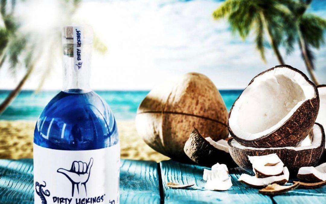 Dirty Lickings Ocean Blue Vodka
